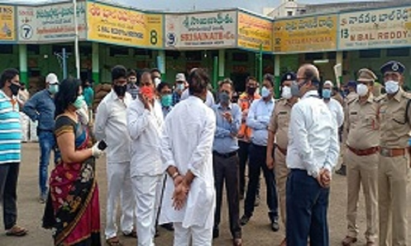 Central team continues inspections in Hyderabad
