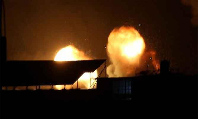 Six People Injured In Blast Near Bengaluru Airport