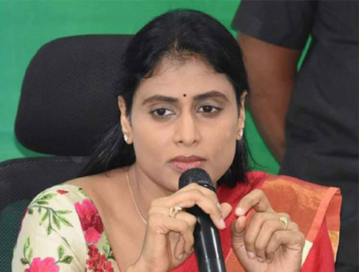 YS Sharmila Slams Govt over Suicide Unemployed Youth