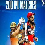Virat Kohli Becomes 1st Cricketer to Play 200 IPL Matches
