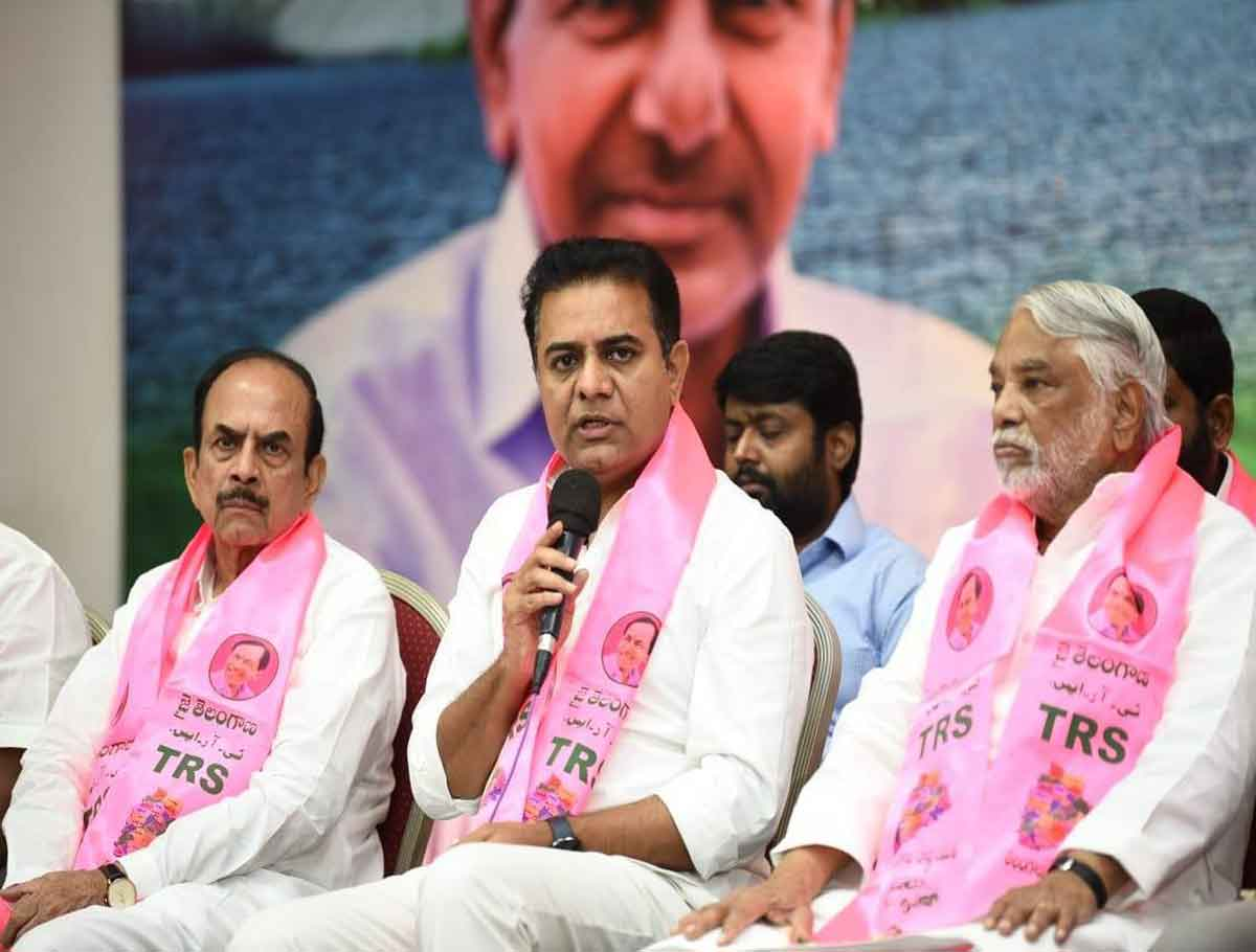 TRS Plenary Would be Conducted at Hitex on Oct 25: KTR